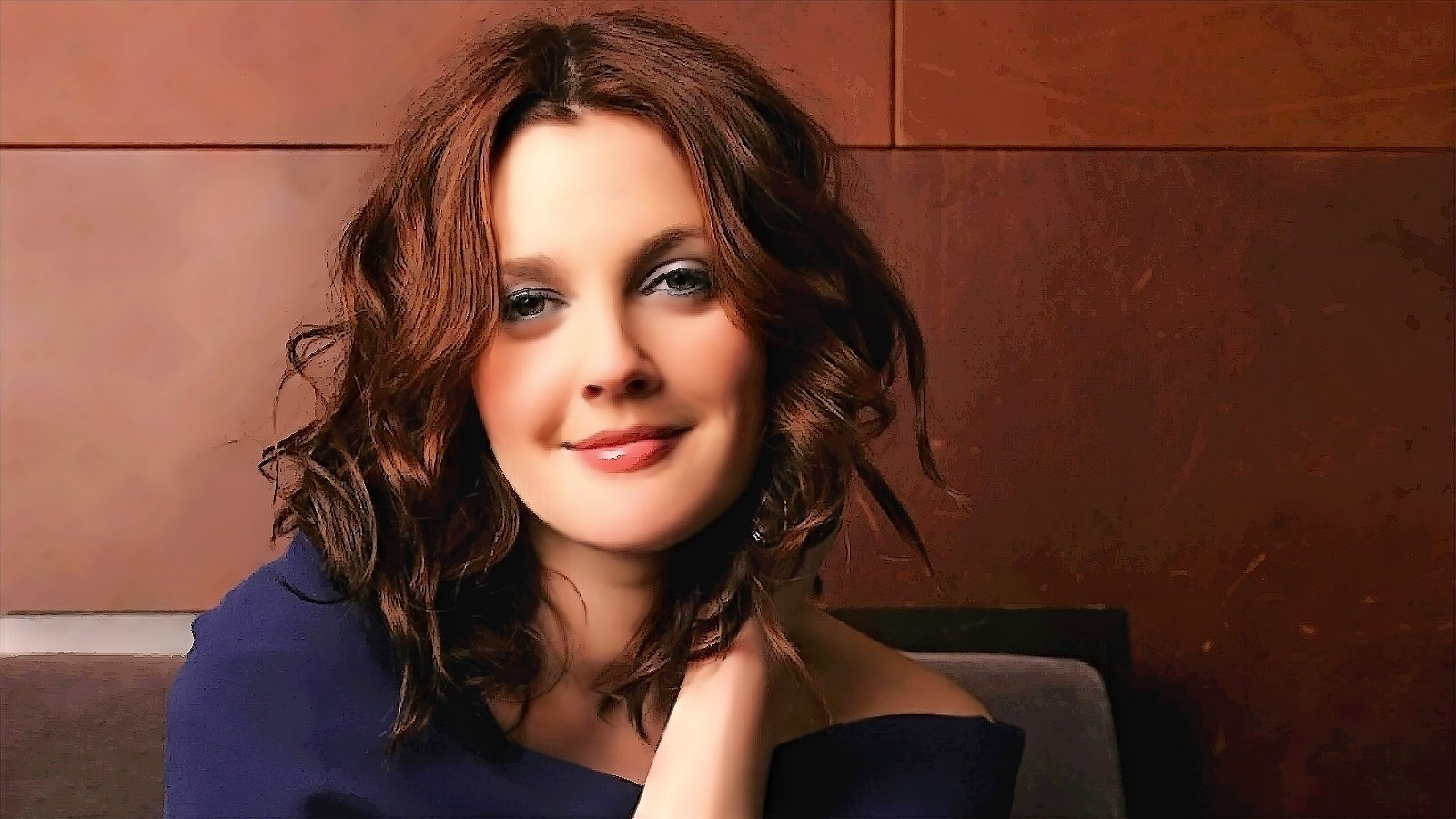 Drew Barrymore Celebrity HD Wallpaper 2