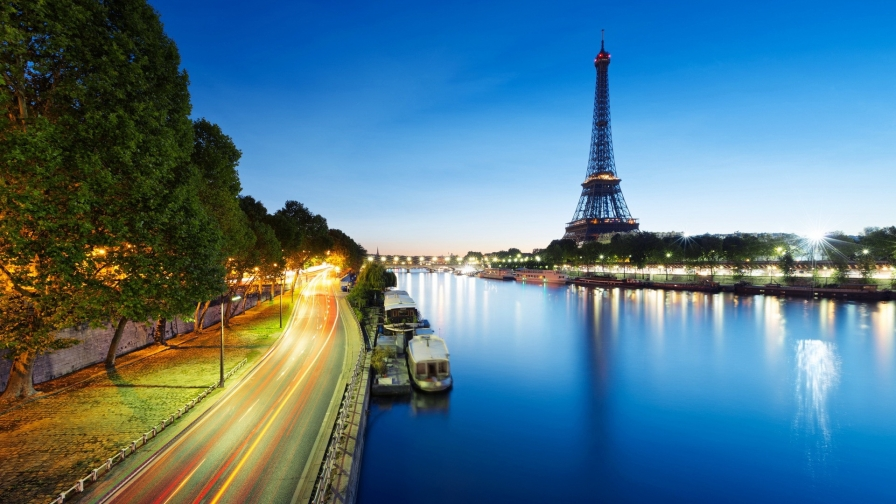 Eiffel Tower Paris France Hd Wallpaper 13 Wallpaper Vactual Papers