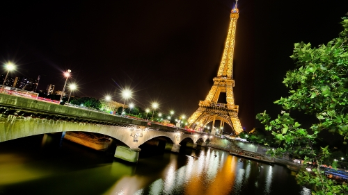 Eiffel Tower Paris France HD Wallpaper 14