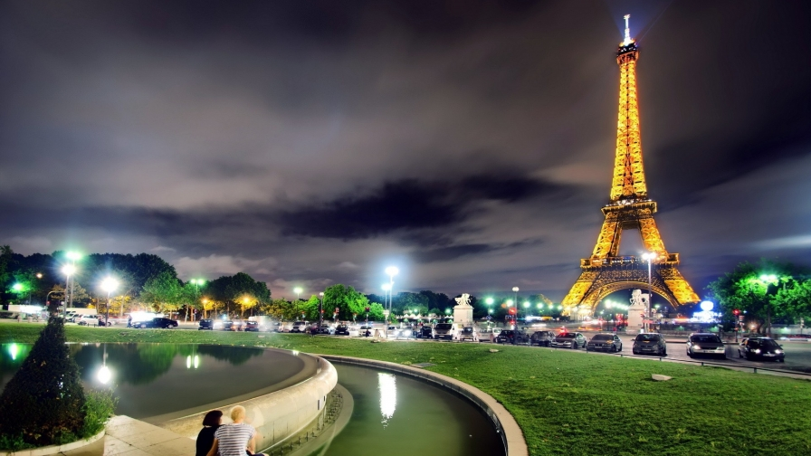 Eiffel Tower Paris France HD Wallpaper 17