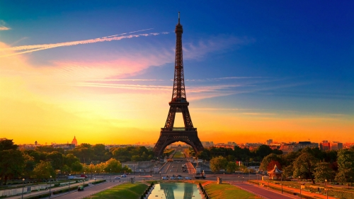 Eiffel Tower Paris France HD Wallpaper 2