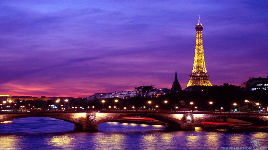 Eiffel Tower Paris France HD Wallpaper 4