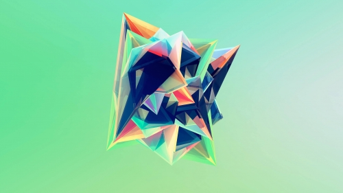 Facets Abstract Design QHD 2560x1440 Wallpaper 145
