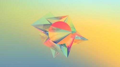 Facets Abstract Design QHD 2560x1440 Wallpaper 162