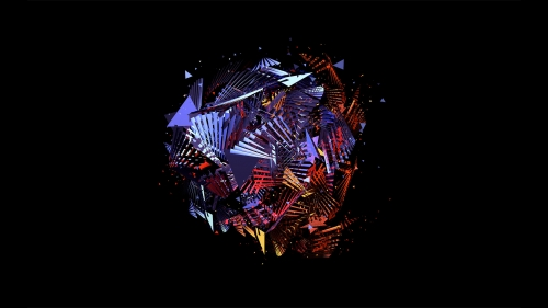 Facets Abstract Design QHD 2560x1440 Wallpaper 17