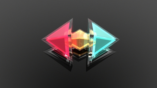 Facets Abstract Design QHD 2560x1440 Wallpaper 183