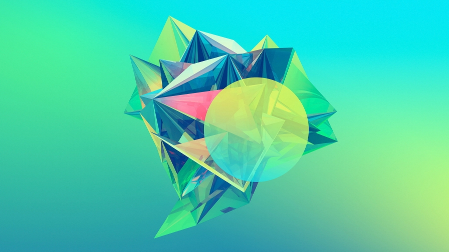 Facets Abstract Design QHD 2560x1440 Wallpaper 216