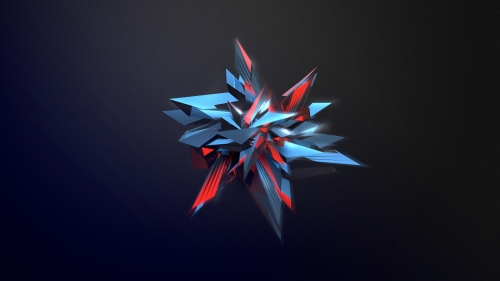Facets Abstract Design QHD 2560x1440 Wallpaper 219