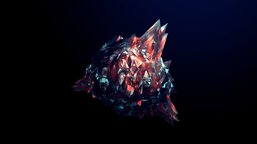 Facets Abstract Design QHD 2560x1440 Wallpaper 226