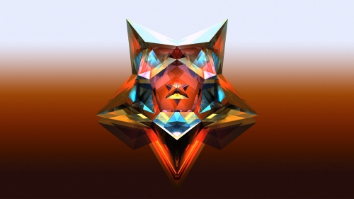 Facets Abstract Design QHD 2560x1440 Wallpaper 62