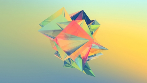 Facets Abstract Design QHD 2560x1440 Wallpaper 64
