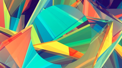 Facets Abstract Design QHD 2560x1440 Wallpaper 65