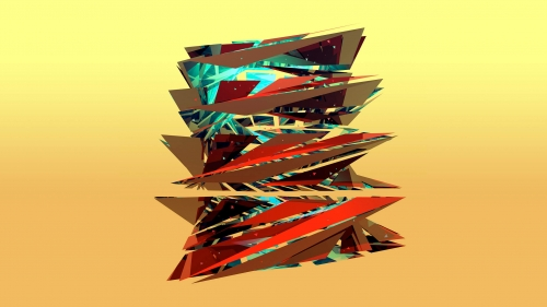 Facets Abstract Design QHD 2560x1440 Wallpaper 85