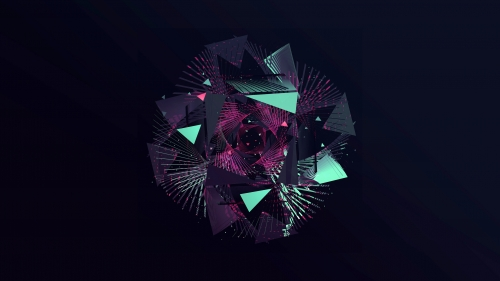 Facets Abstract Design QHD 2560x1440 Wallpaper 90