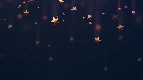 Falling Stars Abstract QHD Wallpaper