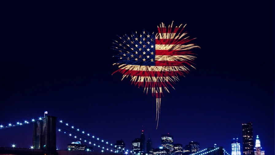 4th Of July Ipad Wallpaper Hd: Fireworks USA Independence Day 4th July Events QHD