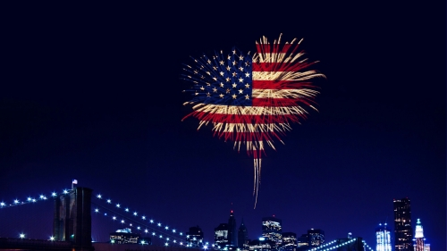 Fireworks USA Independence Day 4th July Events QHD Wallpaper