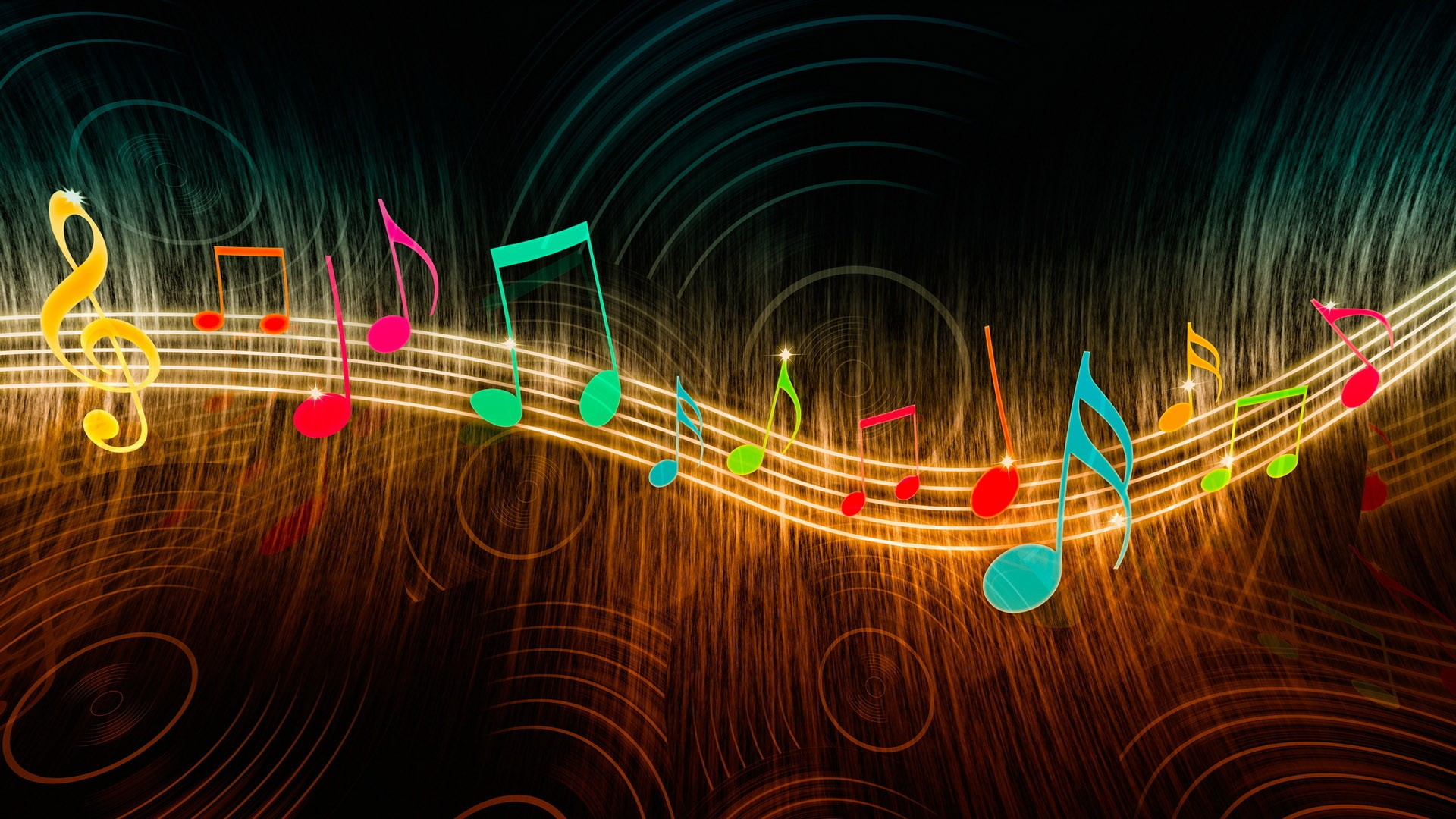 Flow Of Music Abstract HD Wallpaper 1920x1080 (1080p ...  Mobile Music Hd Wallpaper