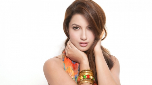 Gauhar Khan Indian Bollywood Film Actress High Quality Wallpaper