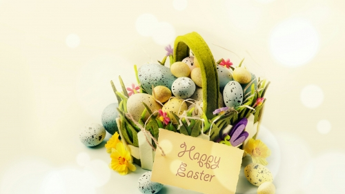 Happy Easter Events QHD Wallpaper 11