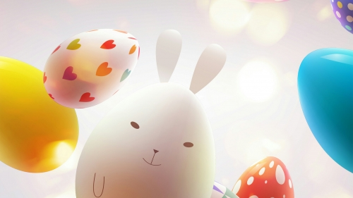 Happy Easter Events QHD Wallpaper 12