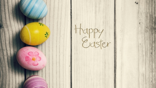 Happy Easter Events QHD Wallpaper 3