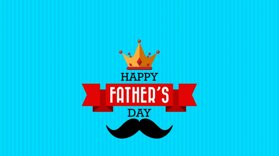 Happy Father's Day QHD Wallpaper
