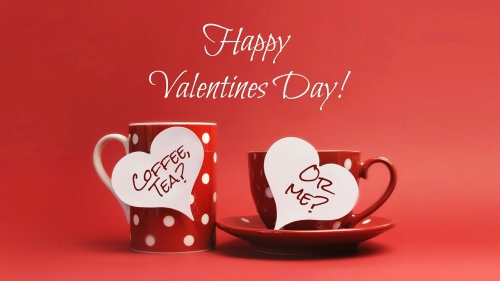 Happy Valentines Day Coffee Mug And Cup Events QHD Wallpaper