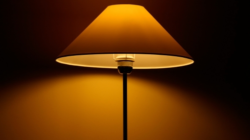Have A Good Night A Table Lamp HD Wallpaper