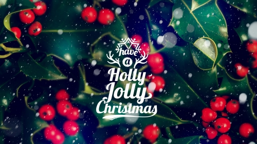 Have A Holly Jolly Christmas Events QHD Wallpaper