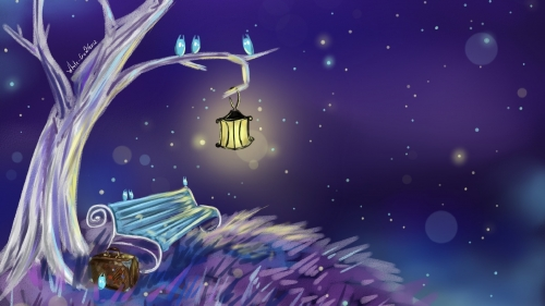 Its A Magical Night Art HD Wallpaper