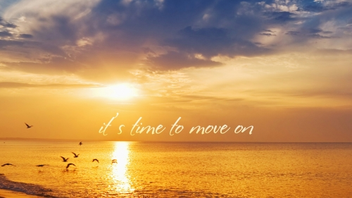 Its Time To Move On Quotes QHD Wallpaper