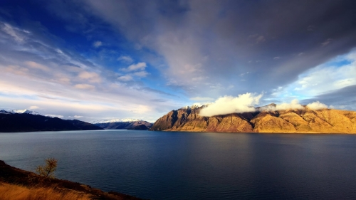 Lake Hawea World Travel New Zealand HD Wallpaper