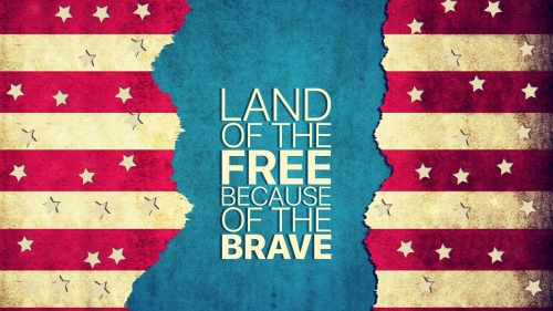 Land Of The Free Because Of The Brave Memorial Day Events QHD Wallpaper 3