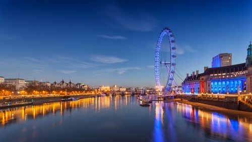 London Eye At Night City HD Wallpaper