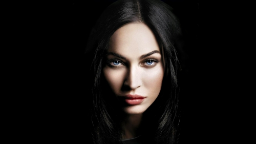 Megan Fox Portrat HD Wallpaper