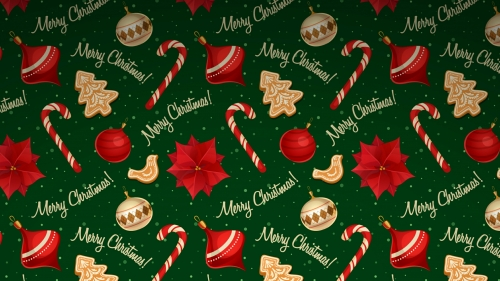 Merry Christmas Classic Background Events QHD Wallpaper
