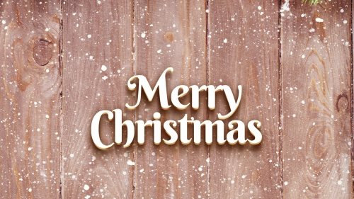 Merry Christmas On A Wooden Surface Events QHD Wallpaper