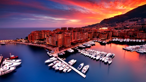 Monaco City HD Wallpaper