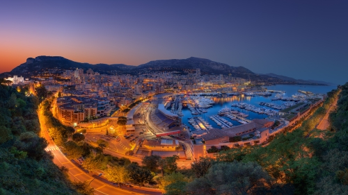 Monte Carlo At Night City HD Wallpaper