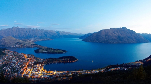 New Queenstown World Travel New Zealand HD Wallpaper