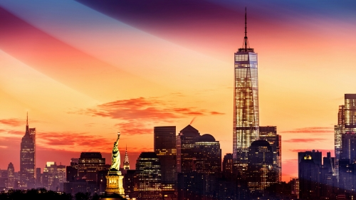 New York City USA Independence Day 4th July Events QHD Wallpaper