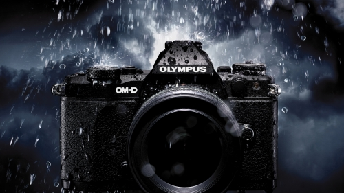 Olympus DSLR Camera HD Wallpaper