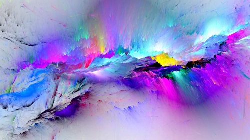 Paint Splash HD Wallpaper