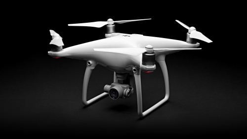 Phantom 4 Quadcopter Drone HD Wallpaper