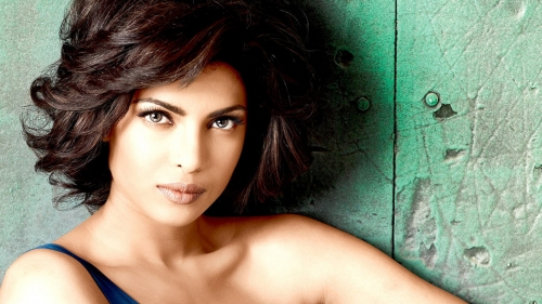 Priyanka Chopra Indian Bollywood Film Actress High Quality Wallpaper