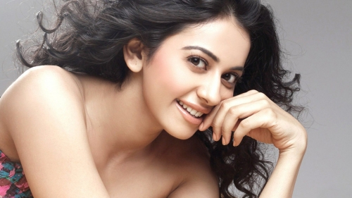 Rakul Preet Singh Indian Bollywood Film Actress High Quality Wallpaper