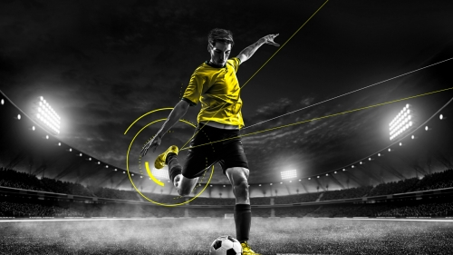 Ready To Kick Soccer Football Sports QHD Wallpaper