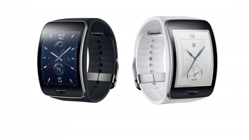 Samsung Gear S Watches In Black And White HD Wallpaper