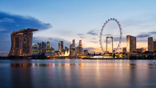 Sights And Scenes Of Beautiful Singapore HD Wallpaper 1